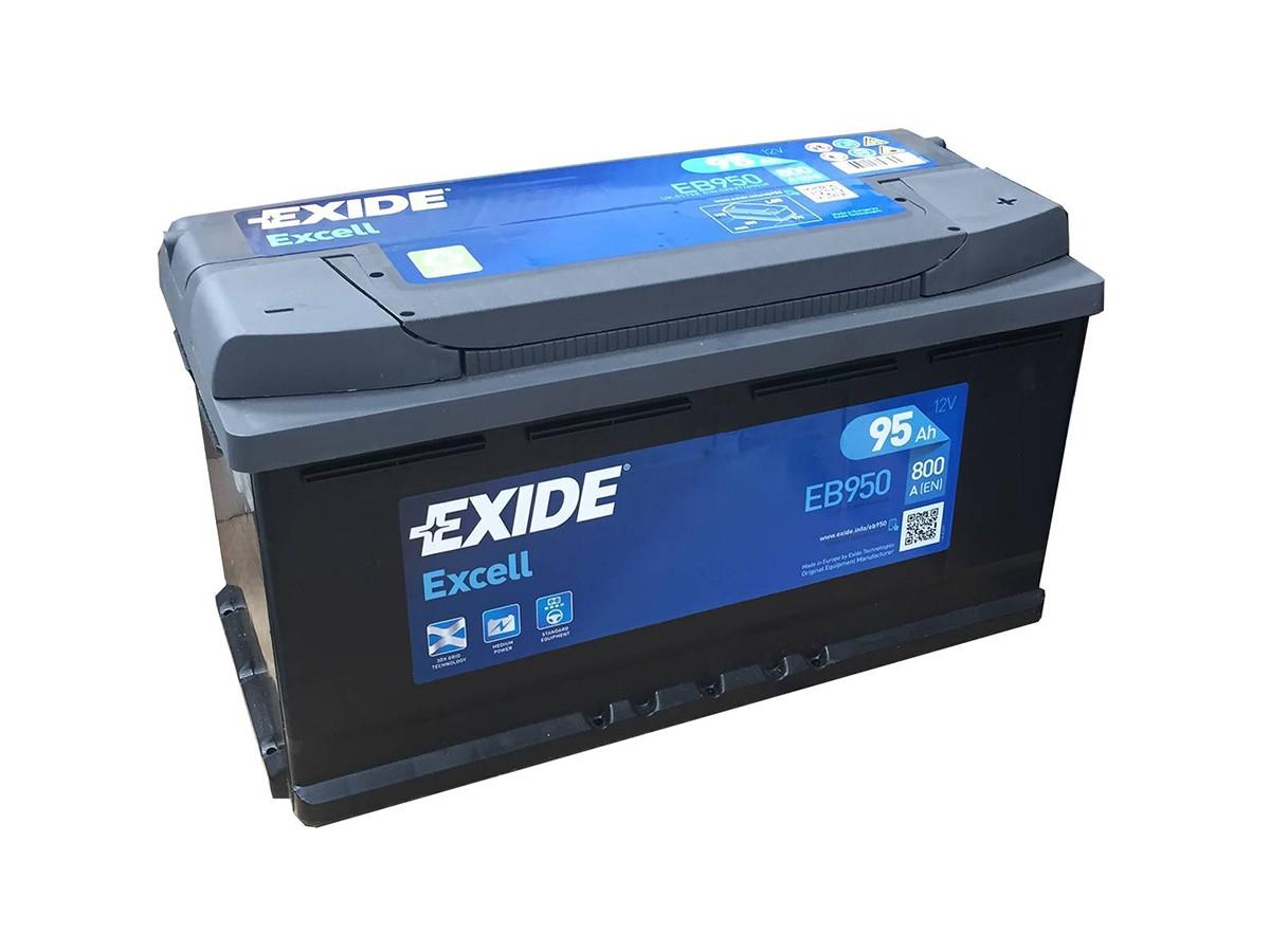 6ст-80 Exide EXCELL низк обр (ЕВ802)