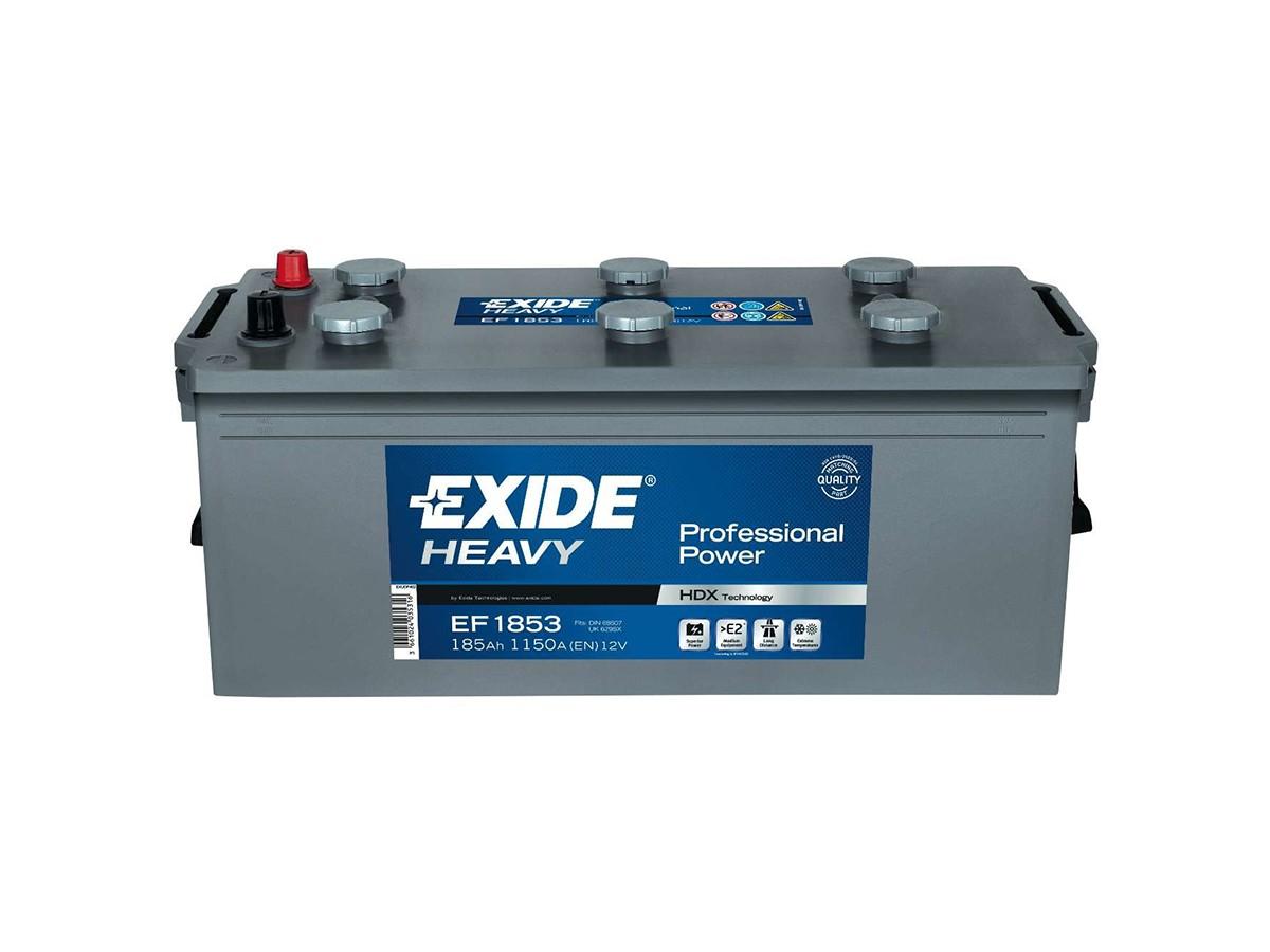6ст-185 Exide HEAVY Professional Power (EF1853) (иностр. ато.)