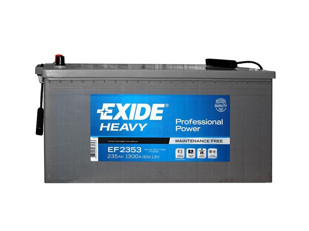 6ст-235 Exide HEAVY Professional Power (EF2353)(3)